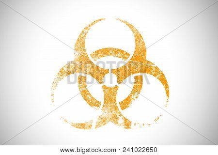 Biochemical Bio Hazard Industrial Sign Logo Symbol Of Danger