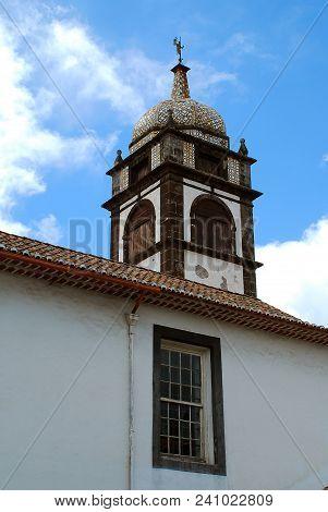 Santa Clara Church, Funchal, Madeira, Portugal. Part Of The Santa Clara Convent, This Beautiful Chur