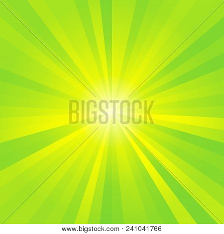 Abstract Yellow Green Optimistic Esoteric Spiritual Image Background