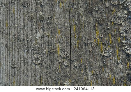 Old Wood Table Texture Background. Abstract Surface. Close Up Dark Rustic Wood Made Of Old Wood Tabl