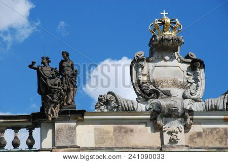 The New Palace (german: Neues Palais) Is A Palace Situated On The Western Side Of The Sanssouci Park