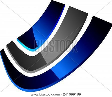 Expertise Solutions Center Logo Design Template Isolated Vector