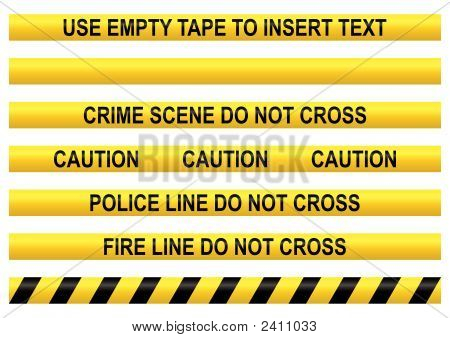 Police Line Tapes