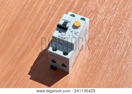 On The Table There Is An Automatic Switch Of Differential Current. The Device Protects Human Life Fr