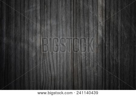 Wood Texture. Dark Grey  Scratched Wooden Cutting Board. Natural Gray  Background.