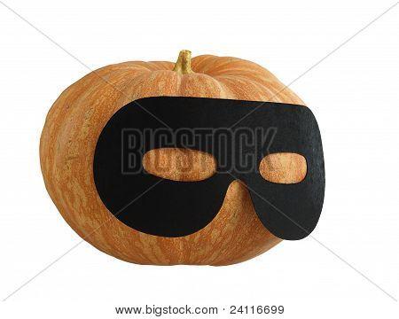 Halloween Masqueraded Pumpkin