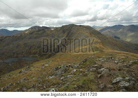 Mountain Ridge, Scotland
