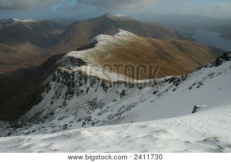View From Sgurr Mhaoraich, Scotland
