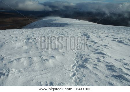 Footprints On The Snow, Scotland