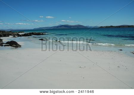 Sandy Beach, Scotland