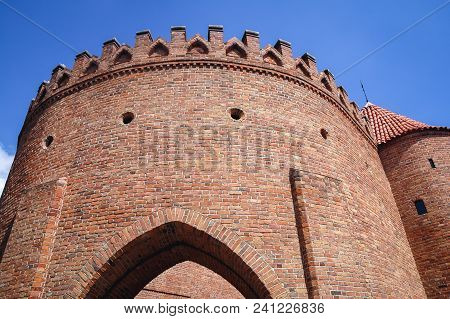 Warsaw Barbican Fortified Outpost, Part Of Historical City Walls Between The Old Town And New Town I