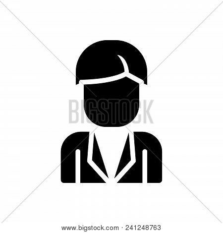 Person Vector Icon On White Background. Person Modern Icon For Graphic And Web Design. Person Icon S