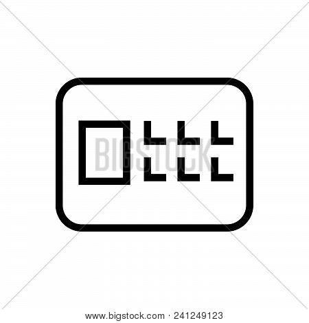 Safe Outlined Symbol Of Safe Deposit. Safe Icon. Safe Icon Vector Eps. Safe Icon Image Jpg