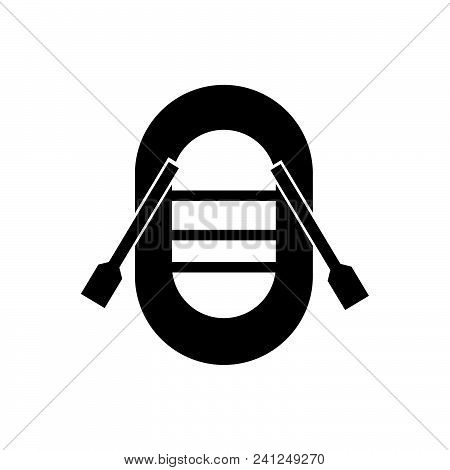 Boat Vector Icon On White Background. Boat Modern Icon For Graphic And Web Design. Boat Icon Sign Fo