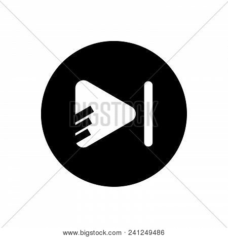 Play Vector Icon On White Background. Play Modern Icon For Graphic And Web Design. Play Icon Sign Fo