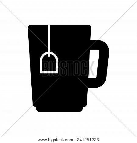 Tea Cup Vector Icon On White Background. Tea Cup Modern Icon For Graphic And Web Design. Tea Cup Ico