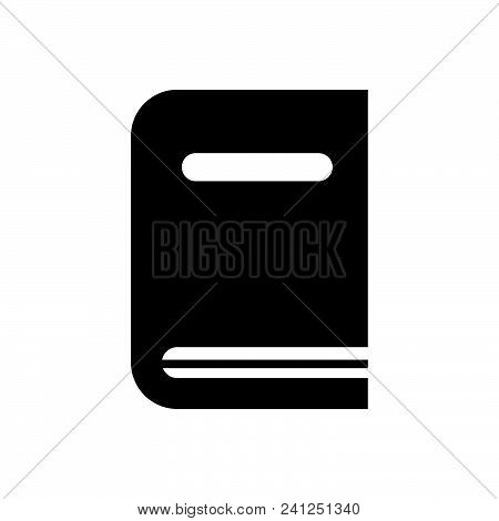 Book Vector Icon On White Background. Book Modern Icon For Graphic And Web Design. Book Icon Sign Fo