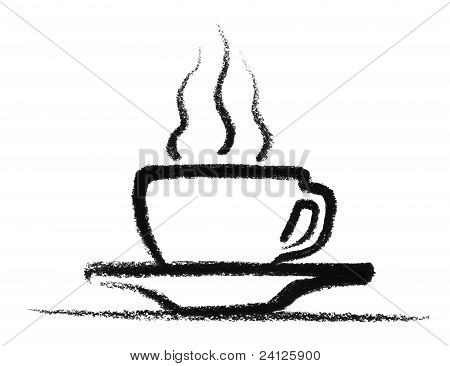 Sketched Hot Cup