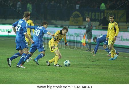 Metalist Vs Dnipro Soccer Match