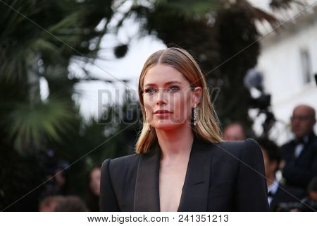 Doutzen Kroes  attend the screening of 'Solo: A Star Wars Story' during the 71st Cannes Film Festival at Palais des Festivals on May 15, 2018 in Cannes, France.