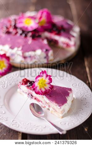 Cheesecake With White Chocolate