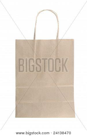 Bag Paper Brown Collor