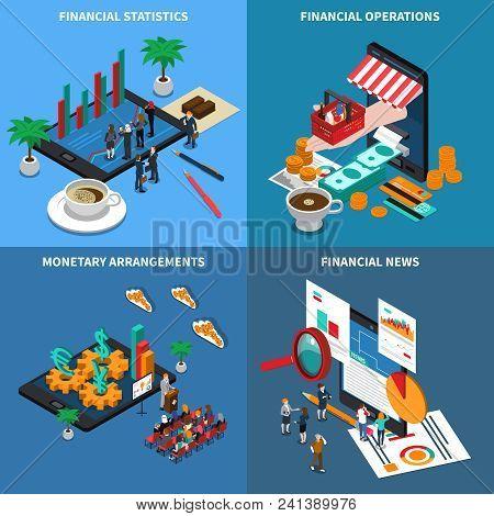 Financial Technology, Statistics And Economy News, Monetary Arrangements, Trading Operations, Isomet