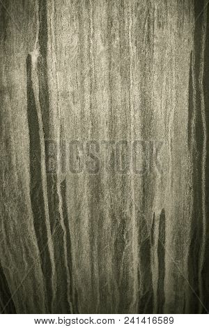 Monochrome Graded Rust Lines On Metal Surface