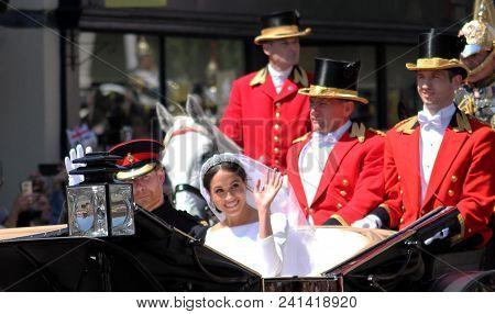 Prince Harry & Meghan Markle, Windsor, Uk - 19/5/2018: Prince Harry And Meghan Markle Wedding Carria