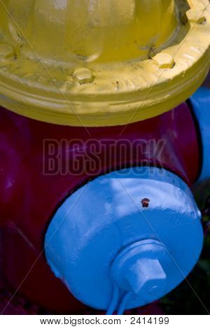 Mulit-Color Fire Hydrant