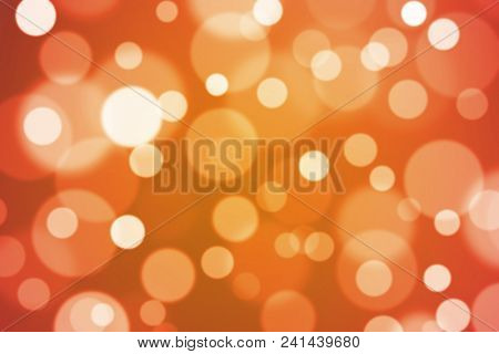 Bright colorful bokeh lights background