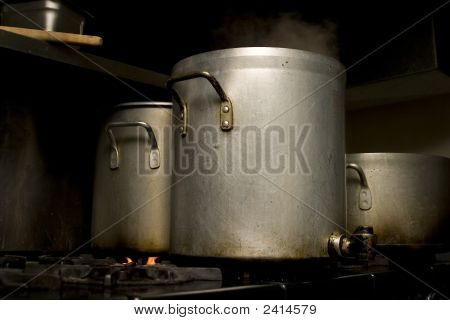 3 Stock Pots