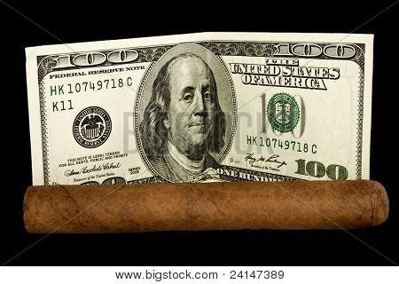 Cigar And Dollars