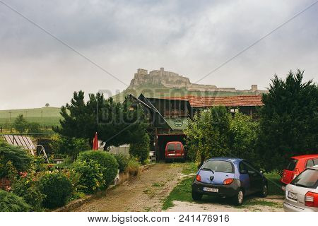 Spisske Podhradie Town And Spis Castle Spissky Hrad , Presov Region, Slovakia June 17, 2016 View Fro