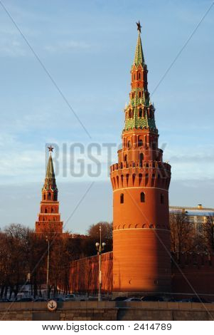 Moscow Kremlin Tower.