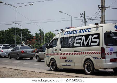 Ambulance Van Of Maejo Subdistrict
