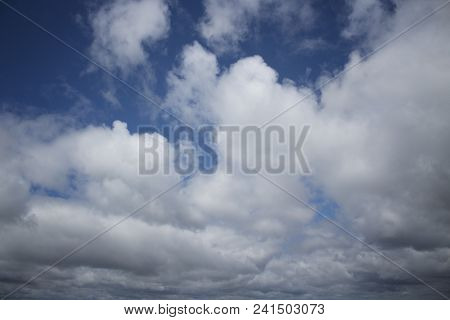 Sky background. Horizon. Blue sky background. Spring sky. Sky style. Skyline. White clouds. Beautiful sky. Magic sky.