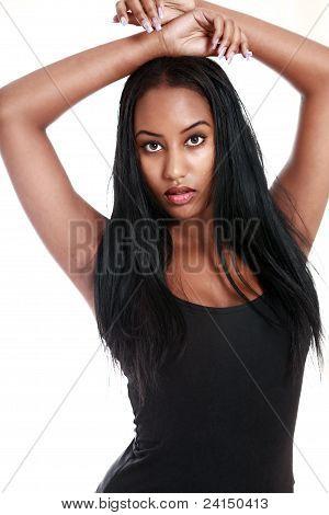 Pretty Ethnic Teenager