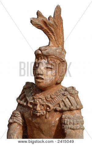 Mayan Or Incan Statue