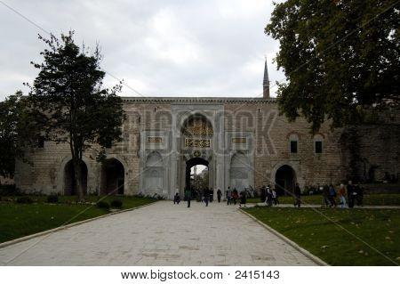 Main Entrance Of Topkapi Palace