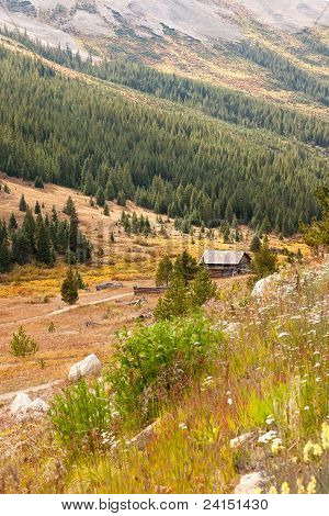 Colorado Hiking Path And Countryside