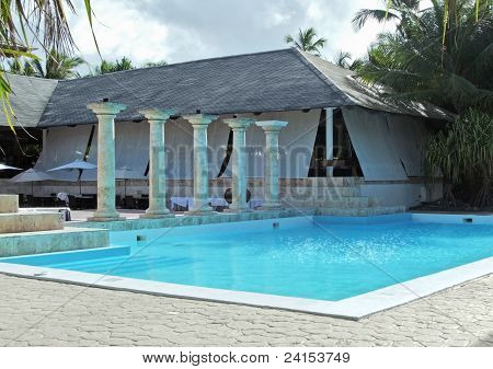Holiday Resort At The Dominican Republic