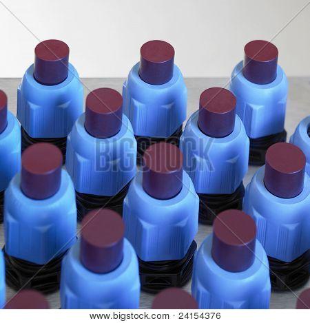 Blue Illuminated Electronics Detail