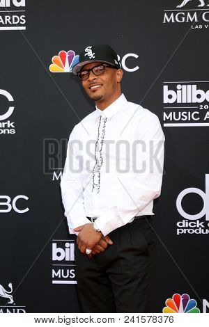 LAS VEGAS - MAY 20:  TI, Clifford Joseph Harris Jr at the 2018 Billboard Music Awards at MGM Grand Garden Arena on May 20, 2018 in Las Vegas, NV