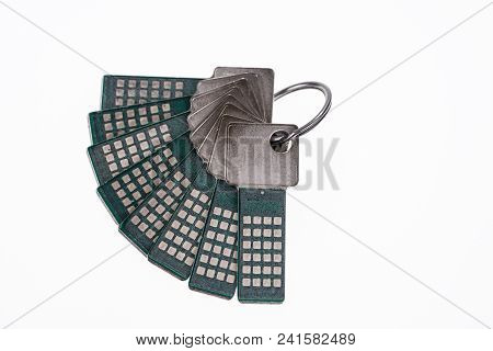 Bundle With Security Keys. Safety And Security Concept
