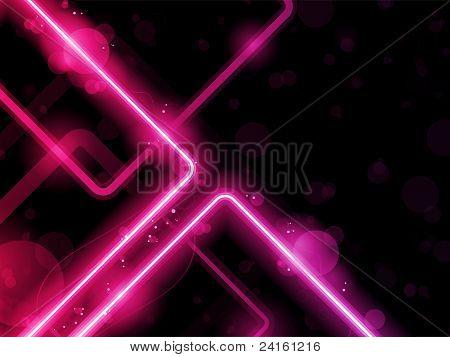 Rote Linien-Hintergrund-Neon-Laser