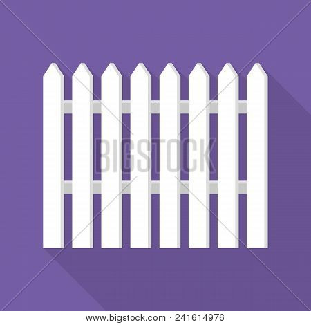 Hight White Barrier Icon. Flat Illustration Of Hight White Barrier Vector Icon For Web Design