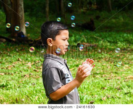 Choosing the favorite bubble