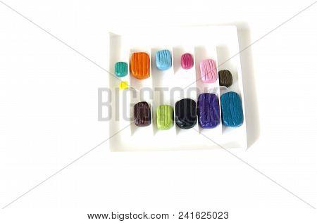 Colored Pieces Of Plasticine