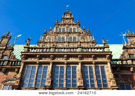 Townhall In Bremen, Germany